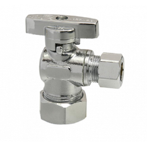 O.D. Compression Elbow Angle Valve