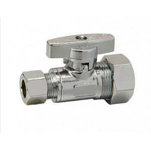 O.D. Compression Straight Angle Valve