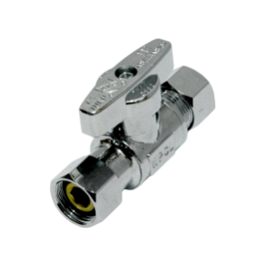 Female Swivel x O.D. Straight Angle Valve